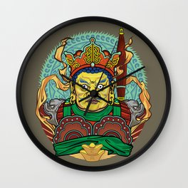 Four Heavenly Kings - North Wall Clock