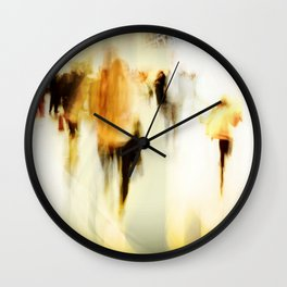 Flashbulb Eyes Wall Clock