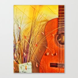 Unplayed Melody Canvas Print
