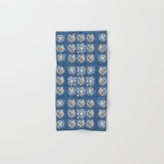 Hearts and Flowers Hand & Bath Towel