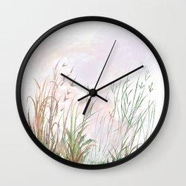 Swamp Grass Wall Clock