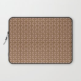Pink Petal Leaves Pattern Laptop Sleeve