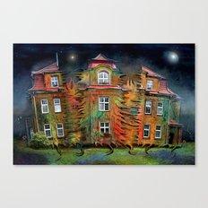 Das lebende Haus  Canvas Print