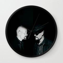 man in the mirror :: BREAKING BAD SERIES :: Wall Clock