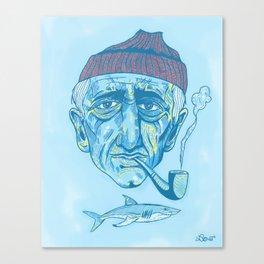 Cousteau. Canvas Print