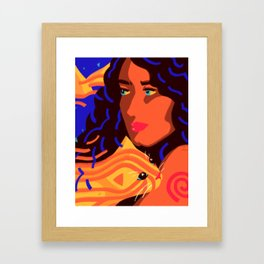 Mutual nurturing Framed Art Print