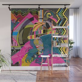 Groove and Pop Wall Mural