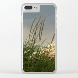 Windy // Nature Photography Clear iPhone Case