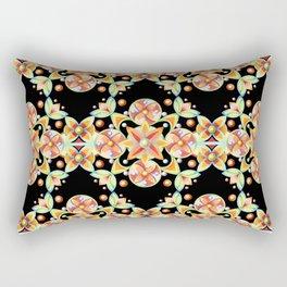 Suzani Stripe Pattern Rectangular Pillow