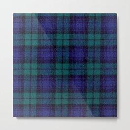 Flannel Feels Metal Print