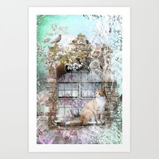Morning has Broken Art Print