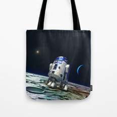 R2 In The Moon Tote Bag