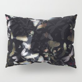 Butterfly And Skull Pillow Sham