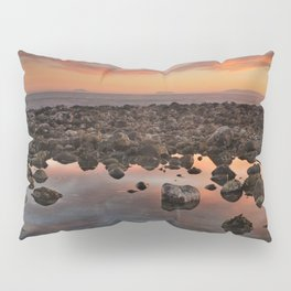 Gibraltar, Africa and Spain in one photo Pillow Sham