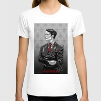 hannibal T-shirts featuring Hannibal by Andrew Sebastian Kwan