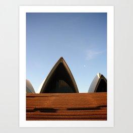 Sydney Opera House Front Door Art Print
