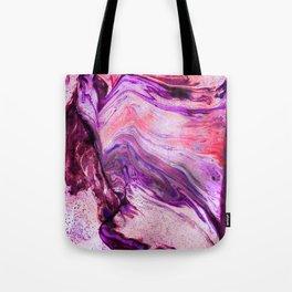 Marbled Garnet Tote Bag
