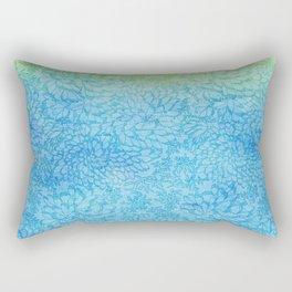 Green lipped mussels Rectangular Pillow