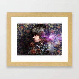past and language Framed Art Print