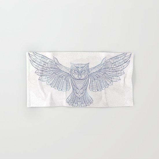 Ethnic Owl Hand & Bath Towel