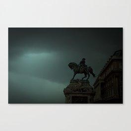 Közelgő vihar Canvas Print