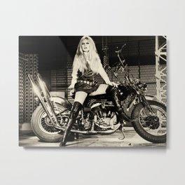 BrigitteBardot Metal Print
