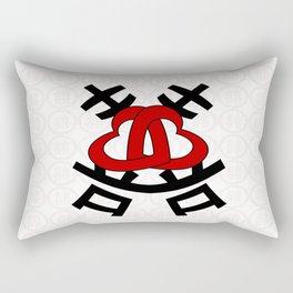 Double happiness 囍 . Rectangular Pillow
