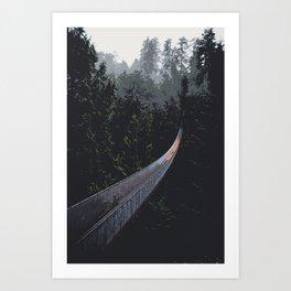 Into the Forest - Digital Art Art Print