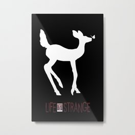 Always Strange Metal Print