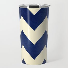 Fleet Week - Navy Chevron Travel Mug