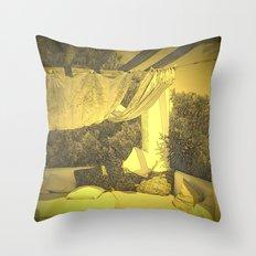 Loungy Ibiza Throw Pillow