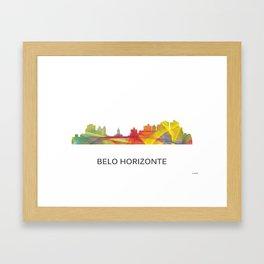 Belo Horizonte, Brazil skyline Framed Art Print