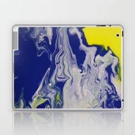 Marble Earth Pour Deux Laptop & iPad Skin