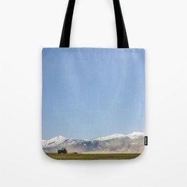 Harrowing Times In Oregon Tote Bag