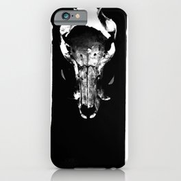 Georgia O'Keeffe - Society6 Exquisite Home Expressionism Fine Art Black Longhorn iPhone Case