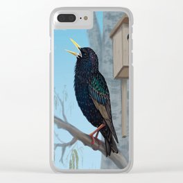 Spring is coming! Clear iPhone Case