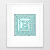 frames Framed Art Prints featuring Frames by • Amanda Khoo •