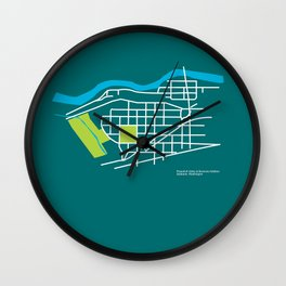 Brownes Addition / Peaceful Valley, Spokane Wall Clock