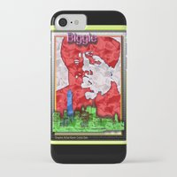 biggie iPhone & iPod Cases featuring Biggie by KEVIN CURTIS BARR'S ART OF FAMOUS FACES