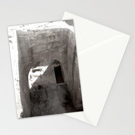 Travel Photograph Rock & A Hard Place 3 Stationery Cards
