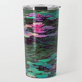 Beverly Hills Water Lily Travel Mug