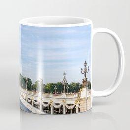 Pont Alexandre III in Paris Coffee Mug