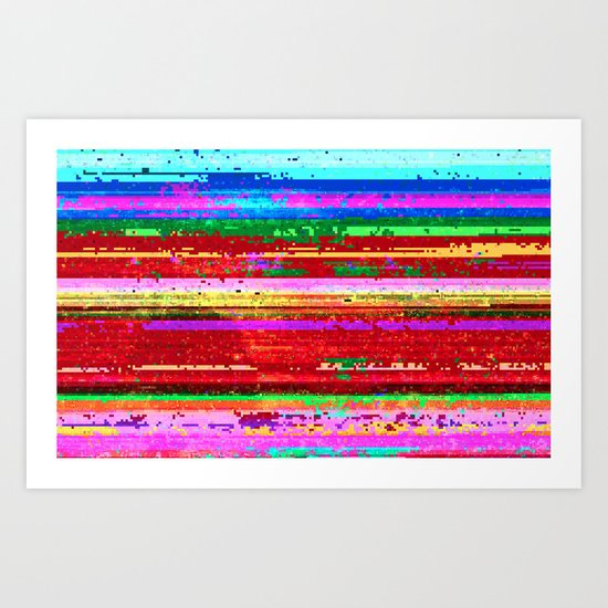 dubstep substitution Art Print