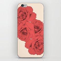 Tattoo Rose   Floral  iPhone & iPod Skin