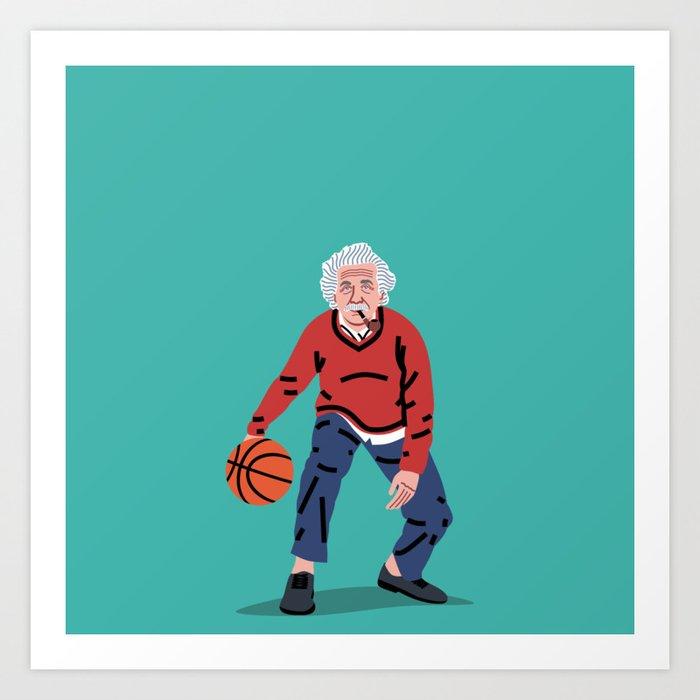 Balling Albert Art Print