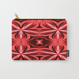 Electric Red Pattern Carry-All Pouch