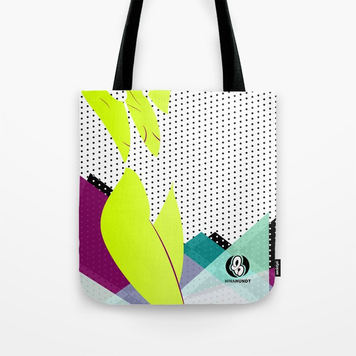 Steamy Dots Tote Bag