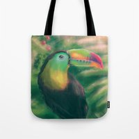 tropical Tote Bags featuring Tropical by Ben Geiger
