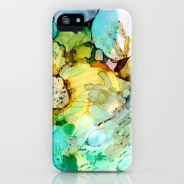Pastel Spring Flowers iPhone Case