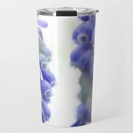 Peek-a-Blue Grape Hyacinth Travel Mug